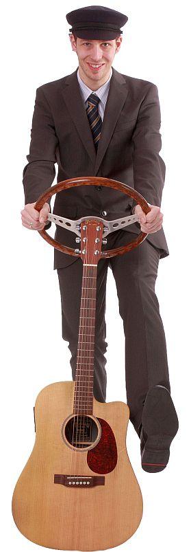 Der Chauffeur mit Gitarre und Gesang Koblenz